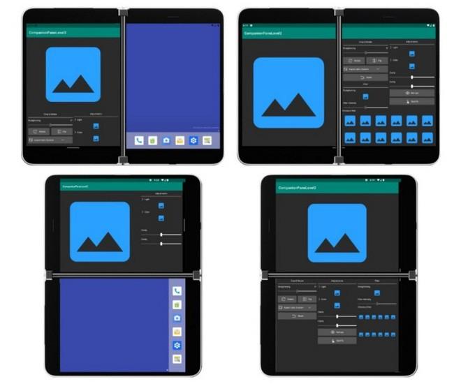 Đây là cách các ứng dụng sẽ hoạt động trên chiếc smartphone Android đầu tiên Surface Duo của Microsoft - Ảnh 2.