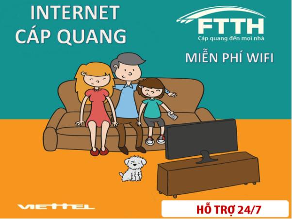 Dịch vụ cố định băng rộng internet cáp quang của Viettel tốt nhất 2020