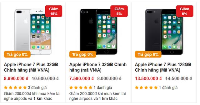 iPhone 7 và iPhone 8 vẫn tiếp tục rớt giá, về ngang với điện thoại bình dân - Ảnh 2.