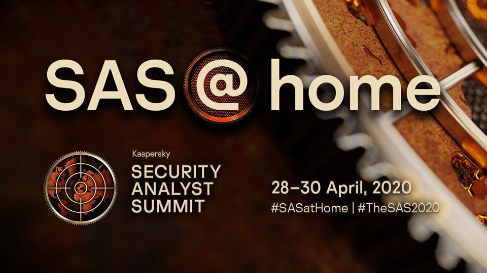 Kaspersky tổ chức Hội nghị thượng đỉnh phân tích bảo mật (SAS) trực tuyến