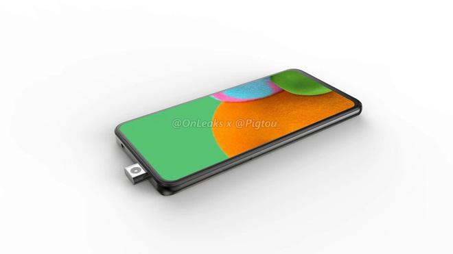 Lộ ảnh smartphone Samsung đầu tiên có camera pop-up - Ảnh 2.