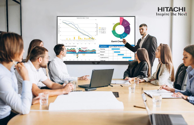 Màn hình tương tác Hitachi giúp hiệu suất công việc vượt trội như thế nào? - Ảnh 2.