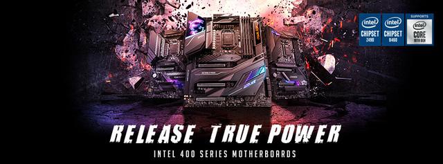 MSI giới thiệu sản phẩm bo mạch chủ thế hệ mới hỗ trợ vi xử lí Intel Core I thế hệ thứ 10 - Ảnh 1.