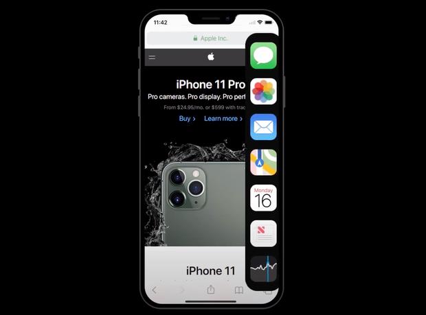 Ngắm nhìn concept iOS 14 trong mơ: Hàng loạt tính năng được iFan mong đợi từ lâu liệu có trở thành sự thật? - Ảnh 6.