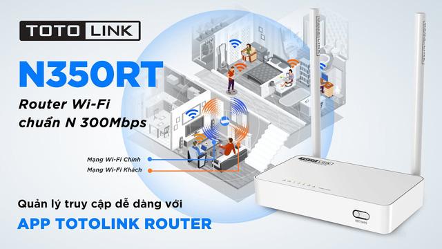 Router Wi-Fi TOTOLINK N350RT - Router giá rẻ phù hợp với nhu cầu sử dụng của mọi người - Ảnh 2.