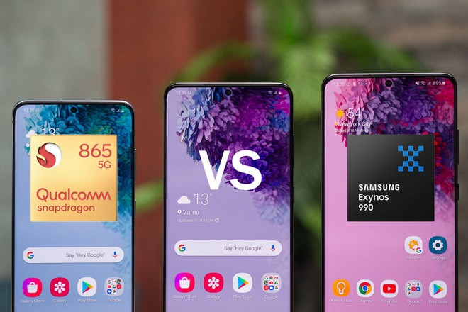 Samsung: Không có sự khác biệt về hiệu năng giữa Exynos 990 và Snapdragon 865 - Ảnh 1.