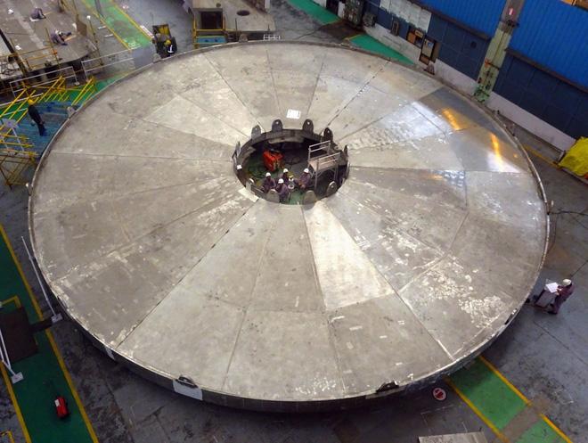 Lò phản ứng thuộc kiểu Tokamak của dự án ITER - Itctoday