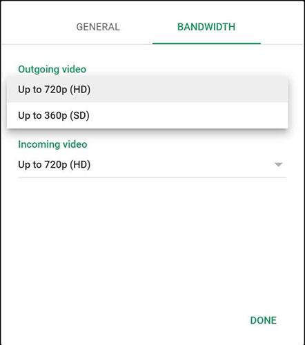 Bạn có thể lựa chọn băng thông phù hợp với kết nối Internet