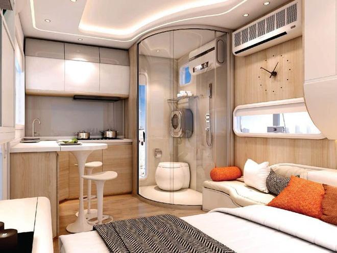 Bên trong căn nhà thông minh dành cho 4 người có thiết kế như tàu vũ trụ - Ảnh 2.