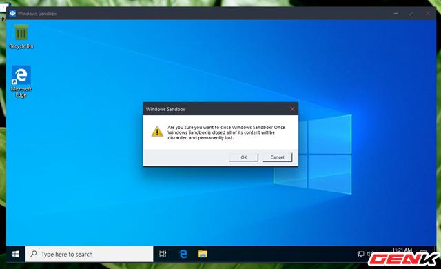 Cách an toàn để khởi chạy phần mềm không đáng tin cậy trên Windows 10 - Ảnh 11.