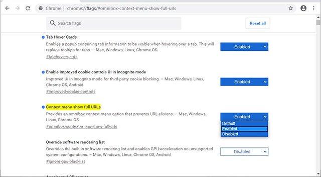 Cách bật hiển thị URL đầy đủ trong Google Chrome - itctoday