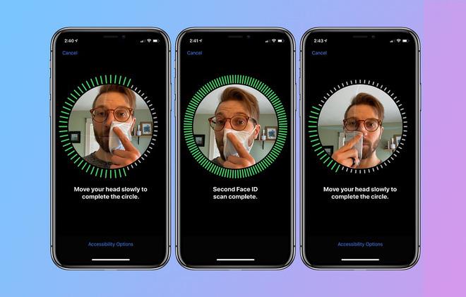 Cho phép người dùng đeo khẩu trang mở khóa FaceID, Apple thể hiện sự vượt trội của công nghệ nhận diện khuôn mặt trong mùa dịch - Ảnh 3.