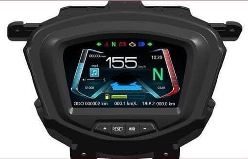 Choáng với mắt đồng hồ Yamaha Exciter 150 mới: Thiết kế sắc nét, có thể xem phim