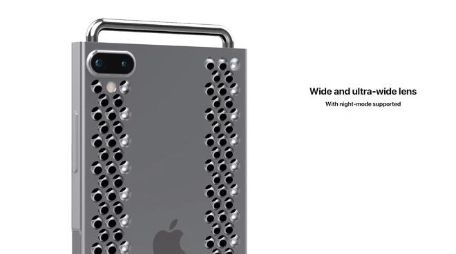 """Concept iPhone 12 """"điên rồ"""" chưa từng thấy, trông chẳng khác gì cái bàn nạo phô mai được gắn bánh xe như Mac Pro - Ảnh 3."""