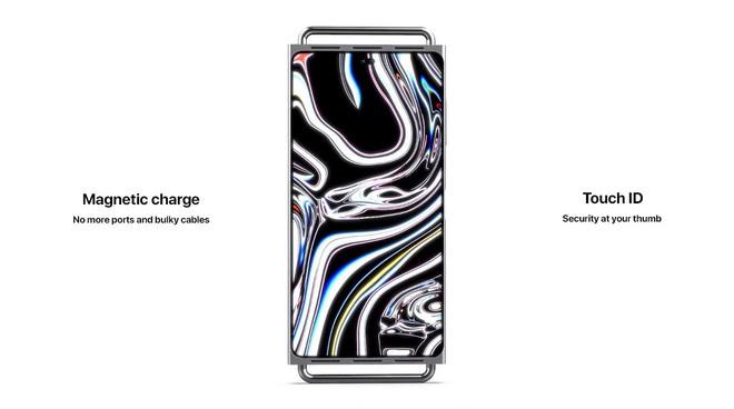 """Concept iPhone 12 """"điên rồ"""" chưa từng thấy, trông chẳng khác gì cái bàn nạo phô mai được gắn bánh xe như Mac Pro - Ảnh 5."""