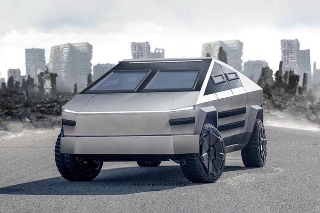 Cybertruck của Tesla có thể được chuyển đổi thành xe tăng bọc thép - Ảnh 2.