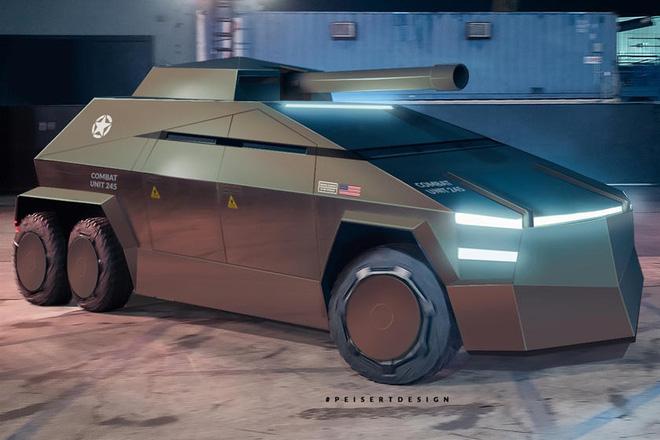 Cybertruck của Tesla có thể được chuyển đổi thành xe tăng bọc thép - Ảnh 9.