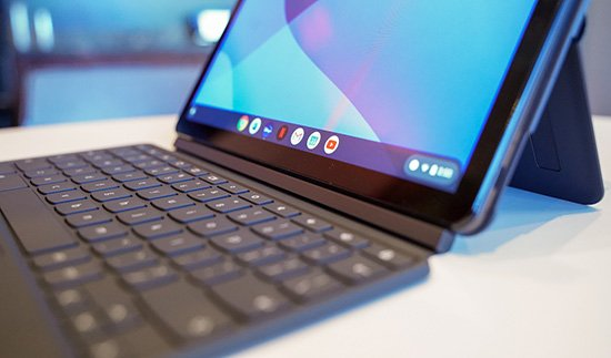 Cận cảnh Lenovo Duet Chromebook