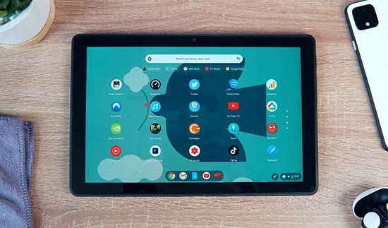 Màn hình hiển thị của Lenovo Duet Chromebook