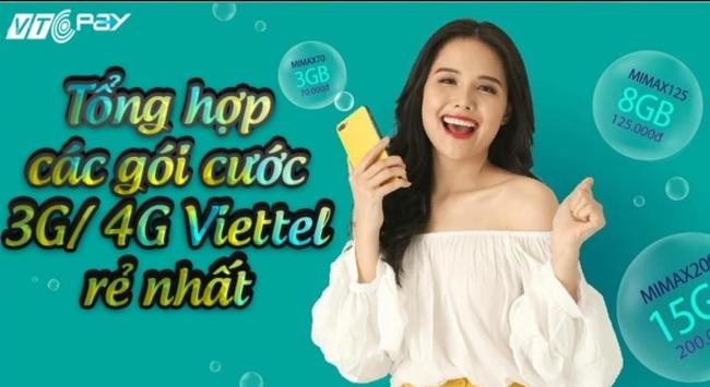 Đâu là gói cước 4G Viettel rẻ nhất, ưu đãi cực khủng?
