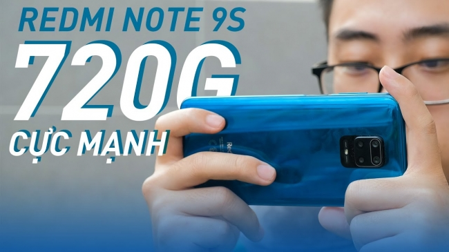 Hiệu năng Redmi Note 9S của Xiaomi: Trùm phân khúc 5 Triệu!!!