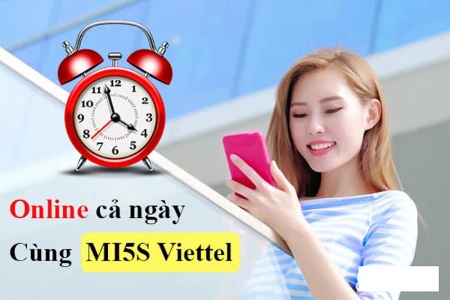 Hướng dẫn đăng ký gói MI5S Viettel siêu rẻ: Chỉ 5.000 đồng nhận ngay data khủng