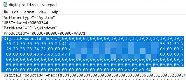 Sao chép code HEX đầy đủ cùng với tên giá trị của nó