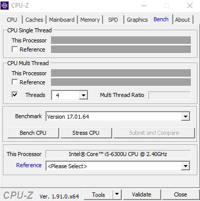Kiểm tra cấu hình máy bằng CPU-Z chi tiết nhất