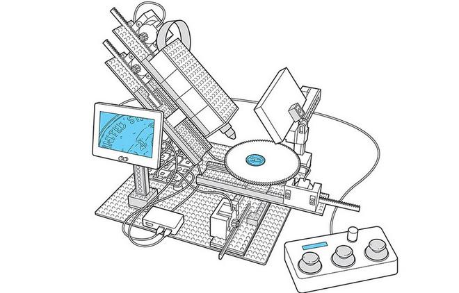 Kỹ sư IBM chế tạo kính hiển vi làm từ Lego, Arduino và Raspberry Pi, giá chỉ 300 USD - Ảnh 1.