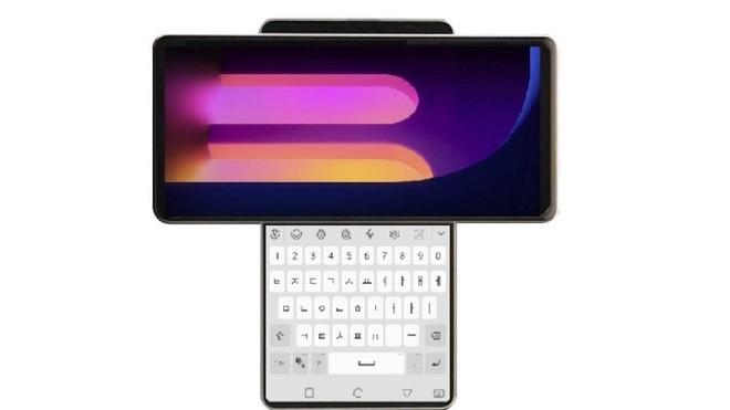 LG Wing lộ diện: Smartphone có thiết kế màn hình xoay độc đáo để lộ ra màn hình phụ thứ hai, hai màn hình có thể đồng nhất, nhưng không biết để làm gì - Ảnh 1.