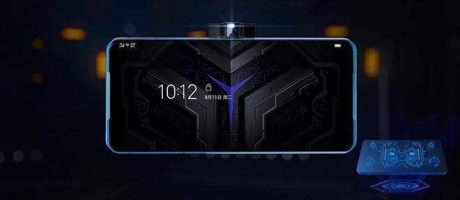 Lộ diện smartphone chơi game đầu tiên của Lenovo, camera pop-up ở cạnh bên - Ảnh 2.
