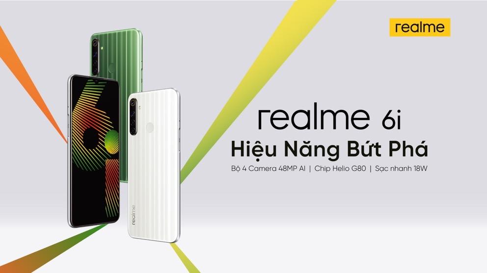 Realme 6i ra mắt cùng vòng tay Realme Band, bán trợ giá đặc biệt trong 3 ngày