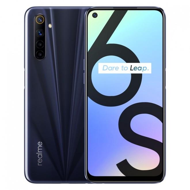 Realme 6s ra mắt: Helio G90T, 4 camera 48MP, pin 4300mAh, giá 5.1 triệu đồng - Ảnh 1.