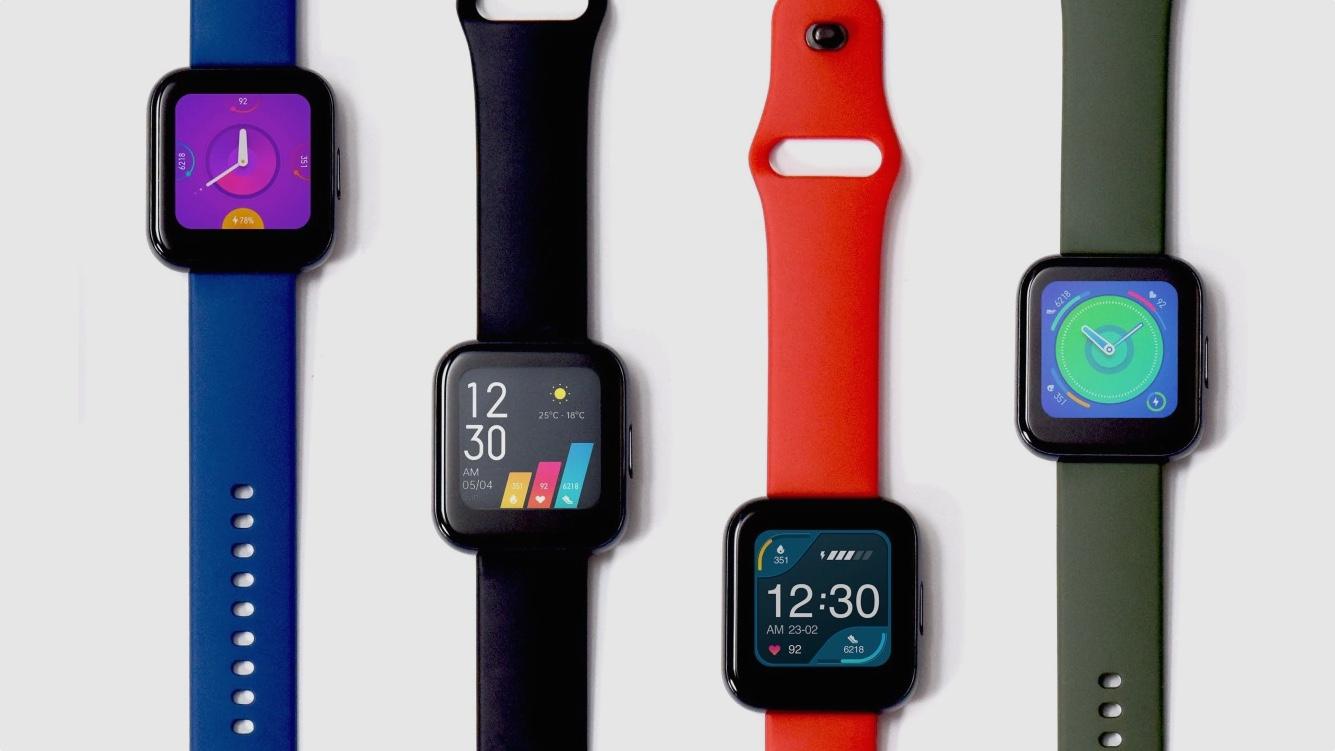 Realme Watch lấy cảm hứng từ Apple Watch, giá chỉ 1,24 triệu đồng