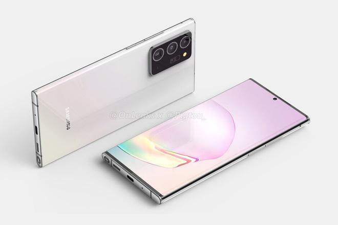 Samsung Galaxy Note 20+ 5G lộ thiết kế hoàn chỉnh - Ảnh 1.