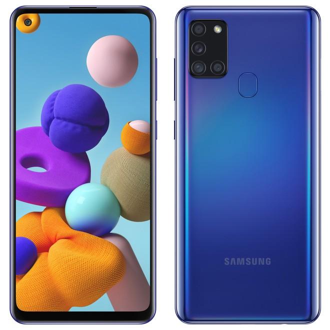 Samsung ra mắt Galaxy A21s: 4 camera sau 64MP, pin 5000mAh, giá từ 5.1 triệu đồng - Ảnh 1.