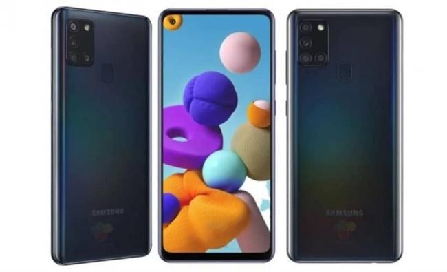 Siêu phẩm tầm trung Galaxy A21s lộ diện: Màn hình nốt ruồi, 4 camera, pin 5.000mAh, giá chỉ 5 triệu