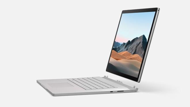 Surface Book 3 ra mắt: Thiết kế không đổi, hiệu năng mạnh hơn 50%, GTX 1650/1660 Ti, giá từ 1599 USD - Ảnh 1.