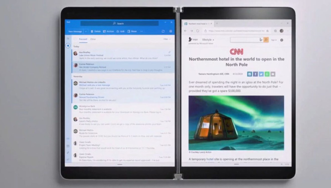 Tablet hai màn hình Surface Neo bị hoãn ra mắt vô thời hạn - Ảnh 2.