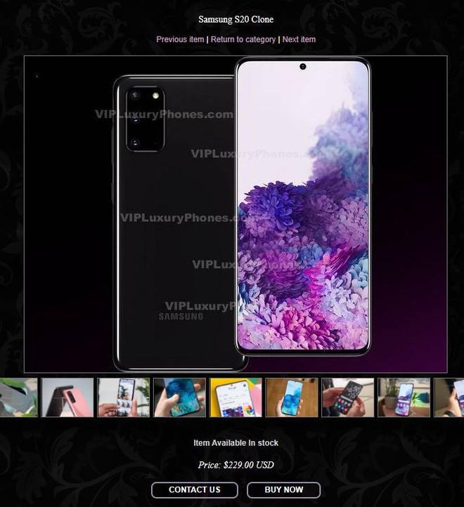 Xuất hiện loạt điện thoại giả mạo Galaxy S20 và Z Flip của Samsung, khác mỗi việc không có nút bấm vật lý - Ảnh 4.