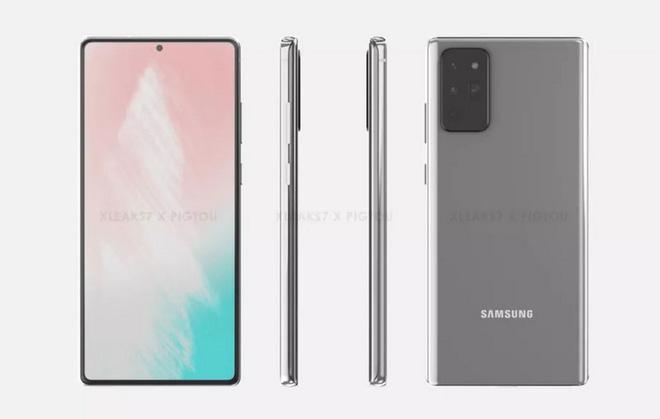 """""""Body"""" Galaxy Note 20 lộ diện thông qua tấm ảnh rò rỉ về ốp lưng của máy - Ảnh 1."""