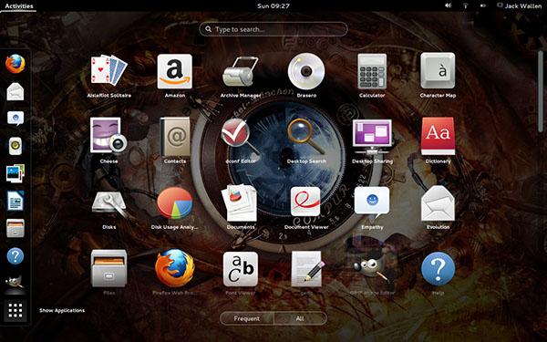 Ubuntu phiên bản GNOME desktop