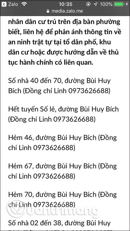 Số điện thoại Cảnh sát