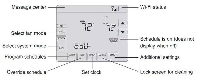 Kết nối bộ điều nhiệt Honeywell với mạng WiFi thành công