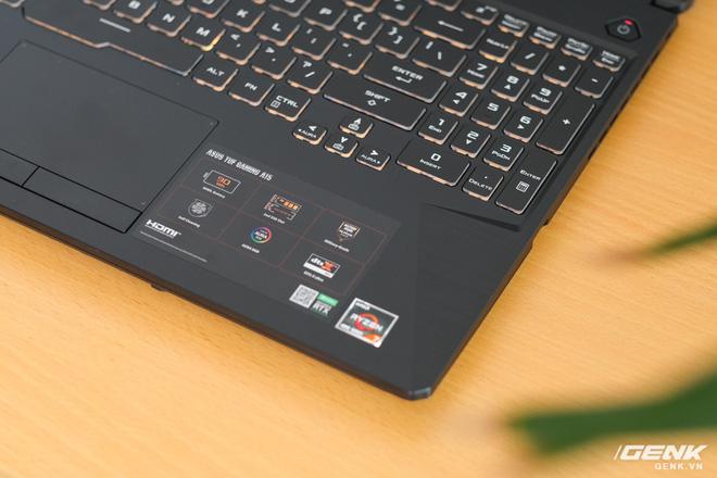 Cận cảnh laptop TUF Gaming A15: logo mới ngầu hơn, chạy AMD Ryzen 4600H và GTX1650, giá nhỉnh hơn 20 triệu đồng - Ảnh 4.