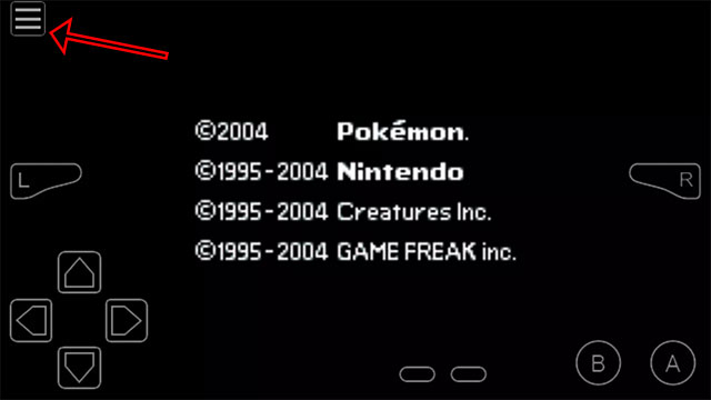lệnh pokemon fire red android