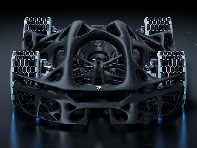 Chiếc xe hơi công suất 3.000 mã lực được chế tạo cho năm 2080 - Ảnh 4.