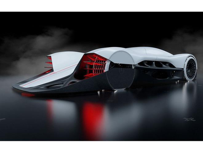 Chiếc xe hơi công suất 3.000 mã lực được chế tạo cho năm 2080 - Ảnh 7.