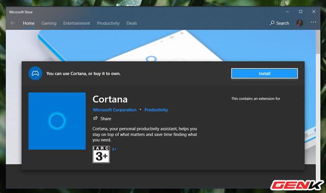 Đã có thể tháo gỡ hoàn toàn Cortana ra khỏi Windows 10 ở bản cập nhật mới - Ảnh 9.