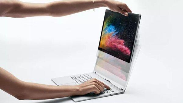Màn hình tháo rời thành tablet của Surface Book 3